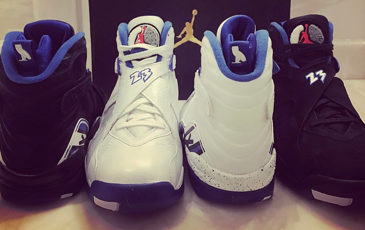 Drake OVO Air Jordan 8 Calipari Pack