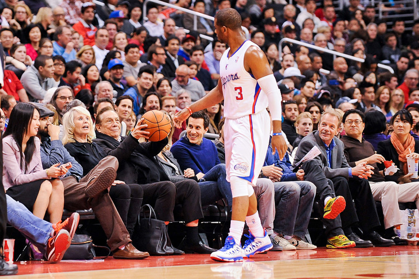 Donald Sterling Chris Paul Clippers 2013