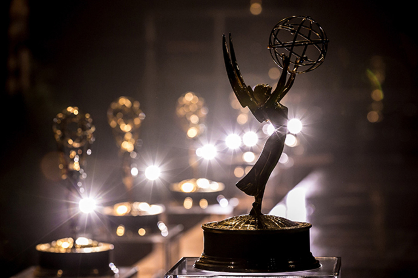 A general view of atmosphere of the Emmy Award