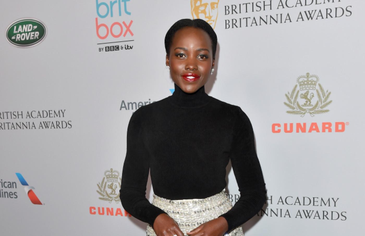 Lupita Nyong'o attends the 2019 British Academy Britannia Awards
