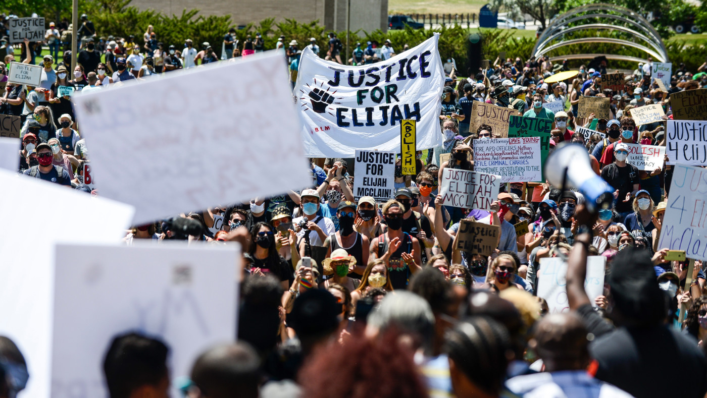 Protest following the death of Elijah McClain