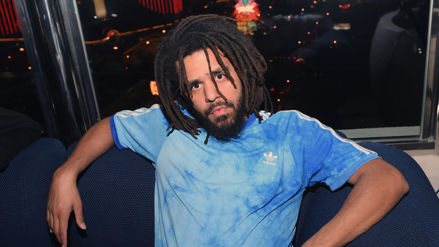 Recording artist J. Cole attends the Apex Social Club at Palms Casino Resort