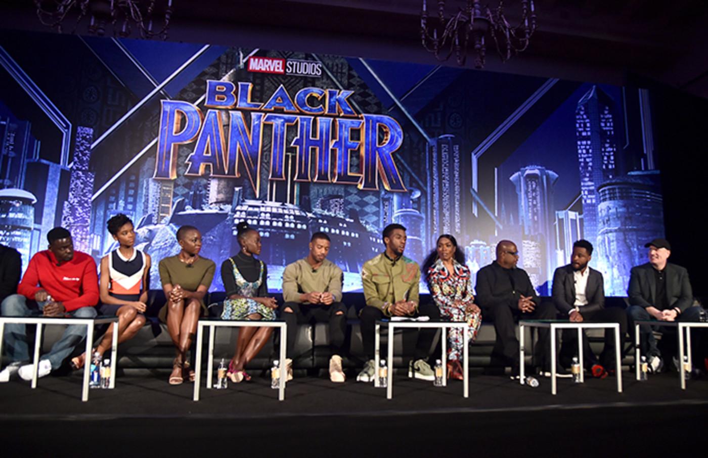 Black Panther cast.
