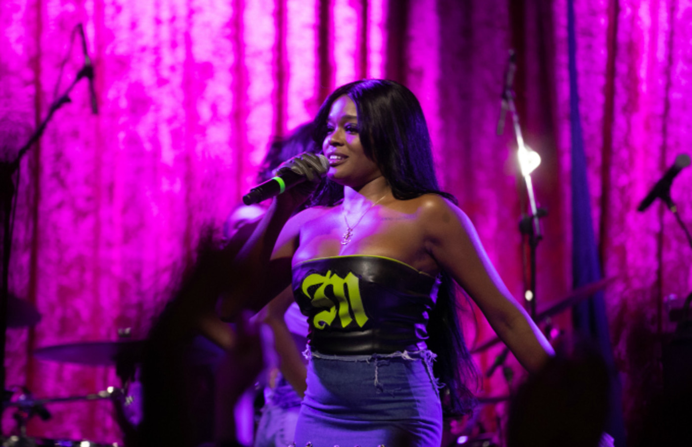 Azealia Banks performs at The Academy
