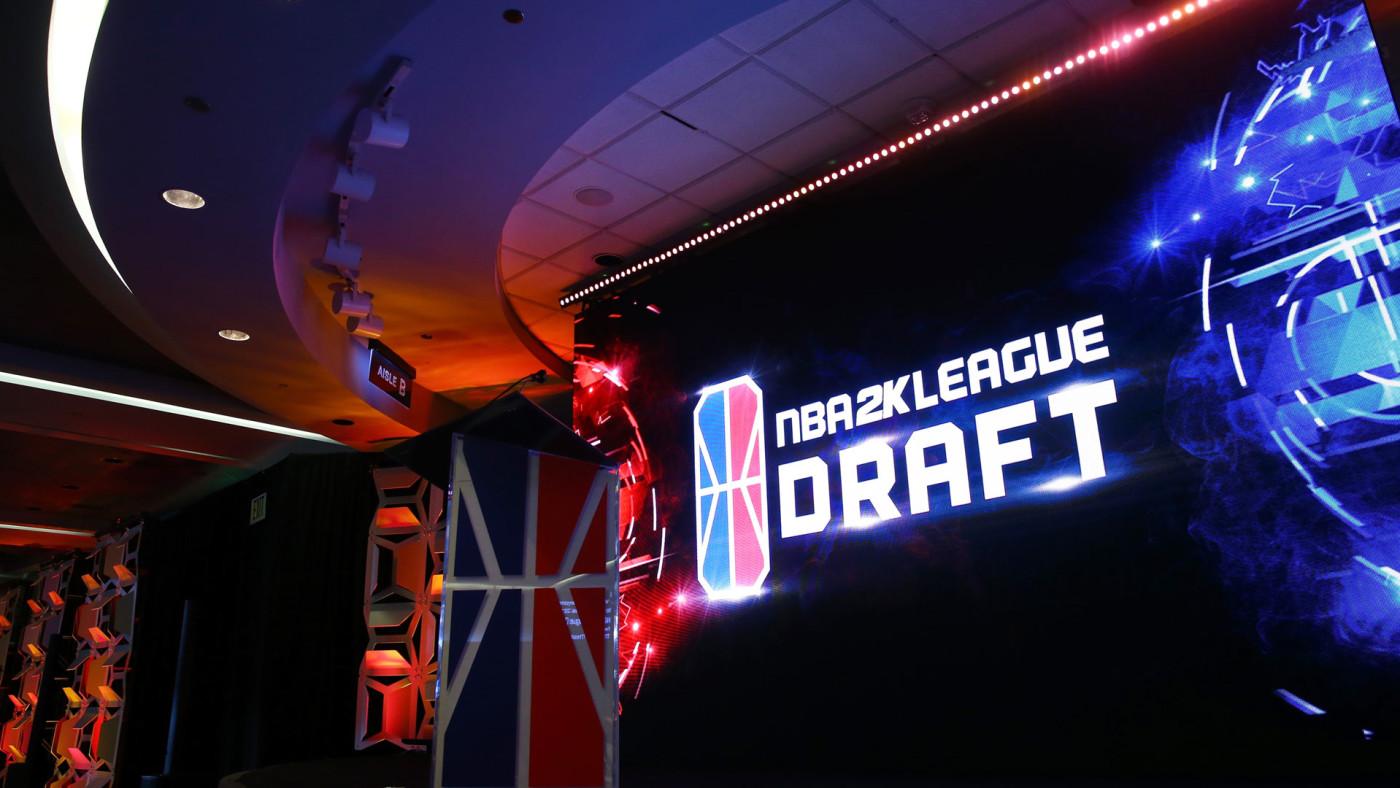 NBA 2K League Draft/Mike Stobe/Stringer