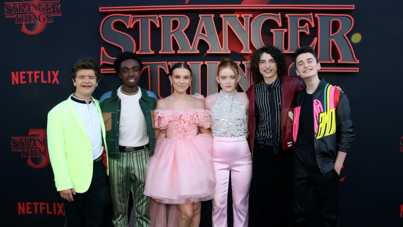 "Cast attends the ""Stranger Things"" Season 3 World Premiere."