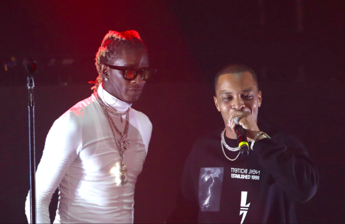 Young Thug and T.I. peform at Hollywood Palladium