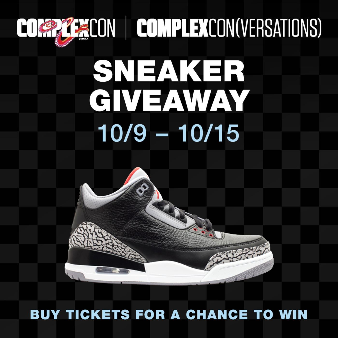 ComplexCon Black/Cement Giveaway