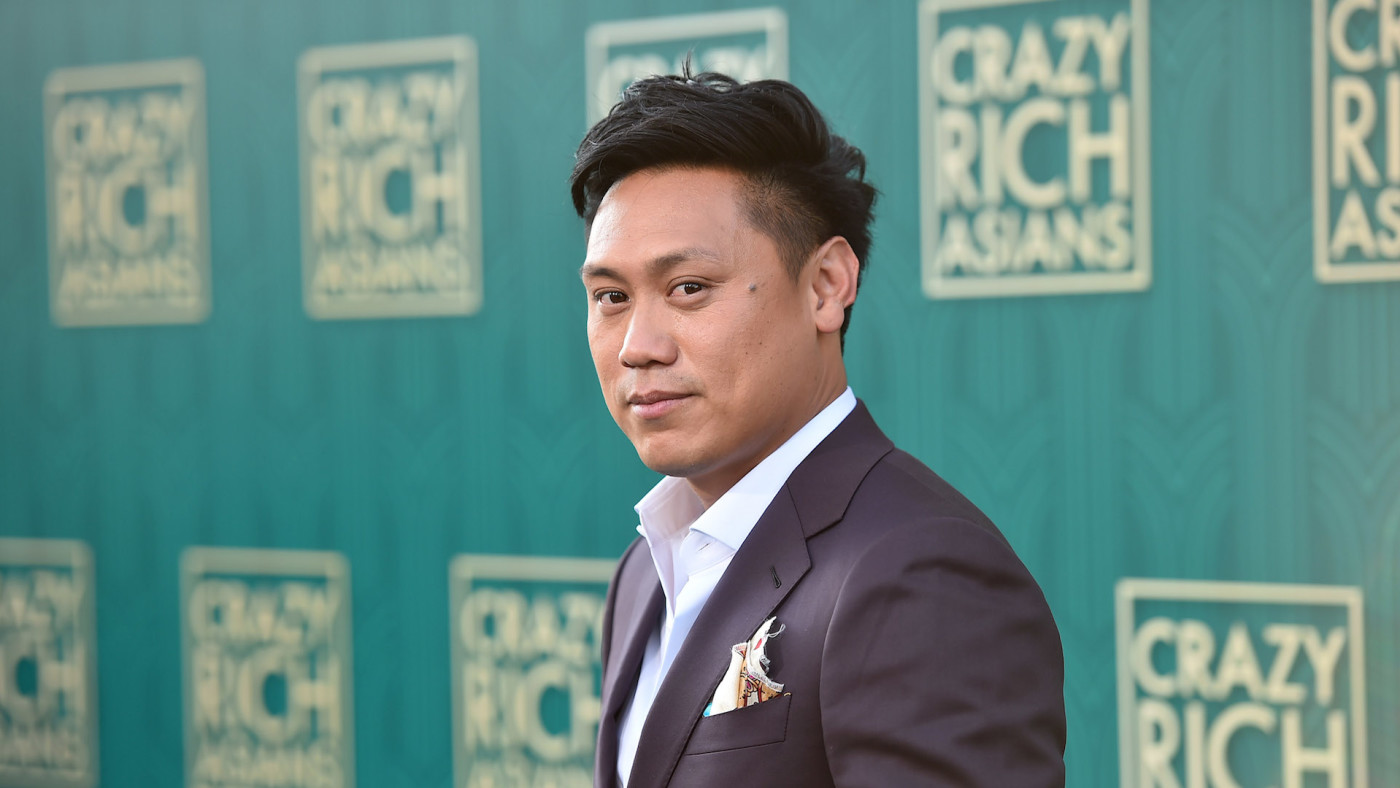 """Jon M. Chu attends the premiere of Warner Bros. Pictures' """"Crazy Rich Asians."""""""