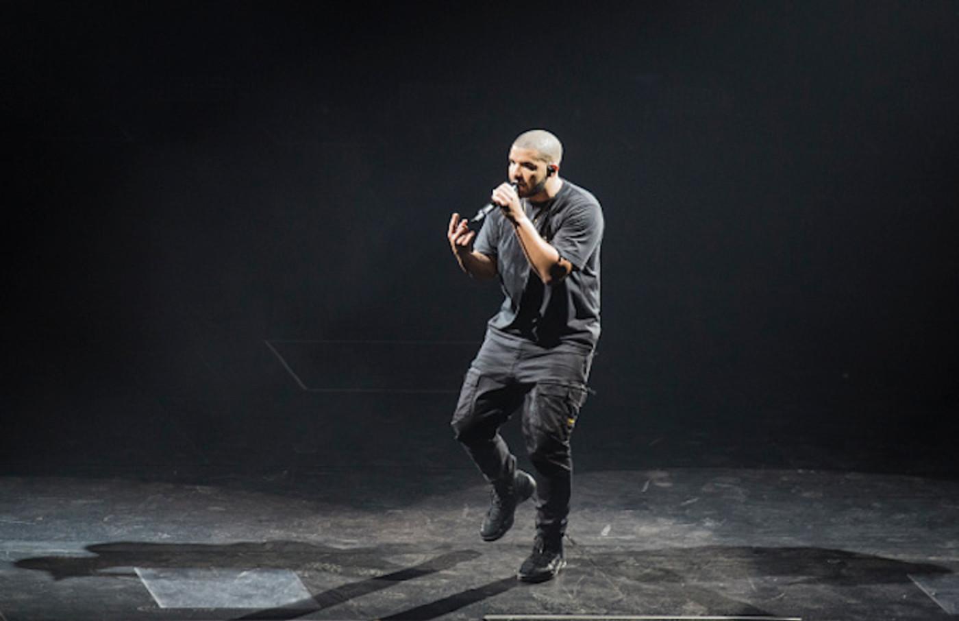 Drake performs at First Direct Arena