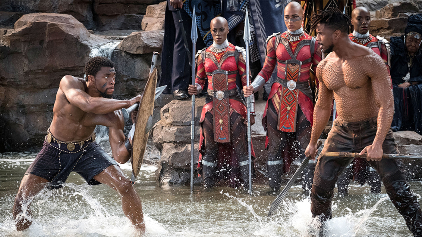 These Are The Workouts Michael B Jordan And Chadwick Boseman Used To Get Shredded For Black Panther Complex