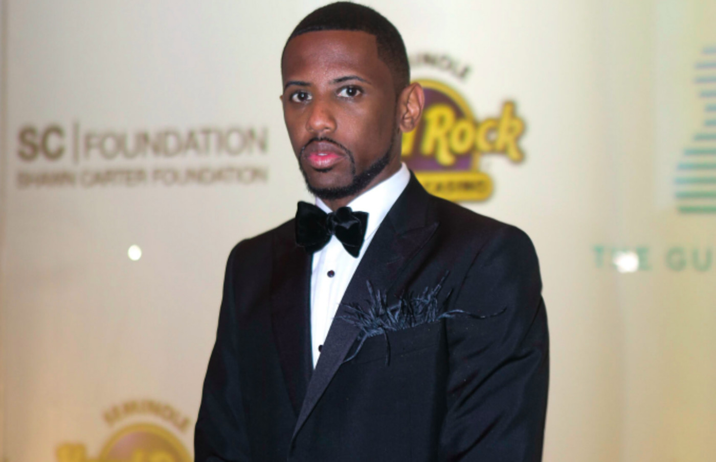 Fabolous arrives at the Shawn Carter Foundation Gala