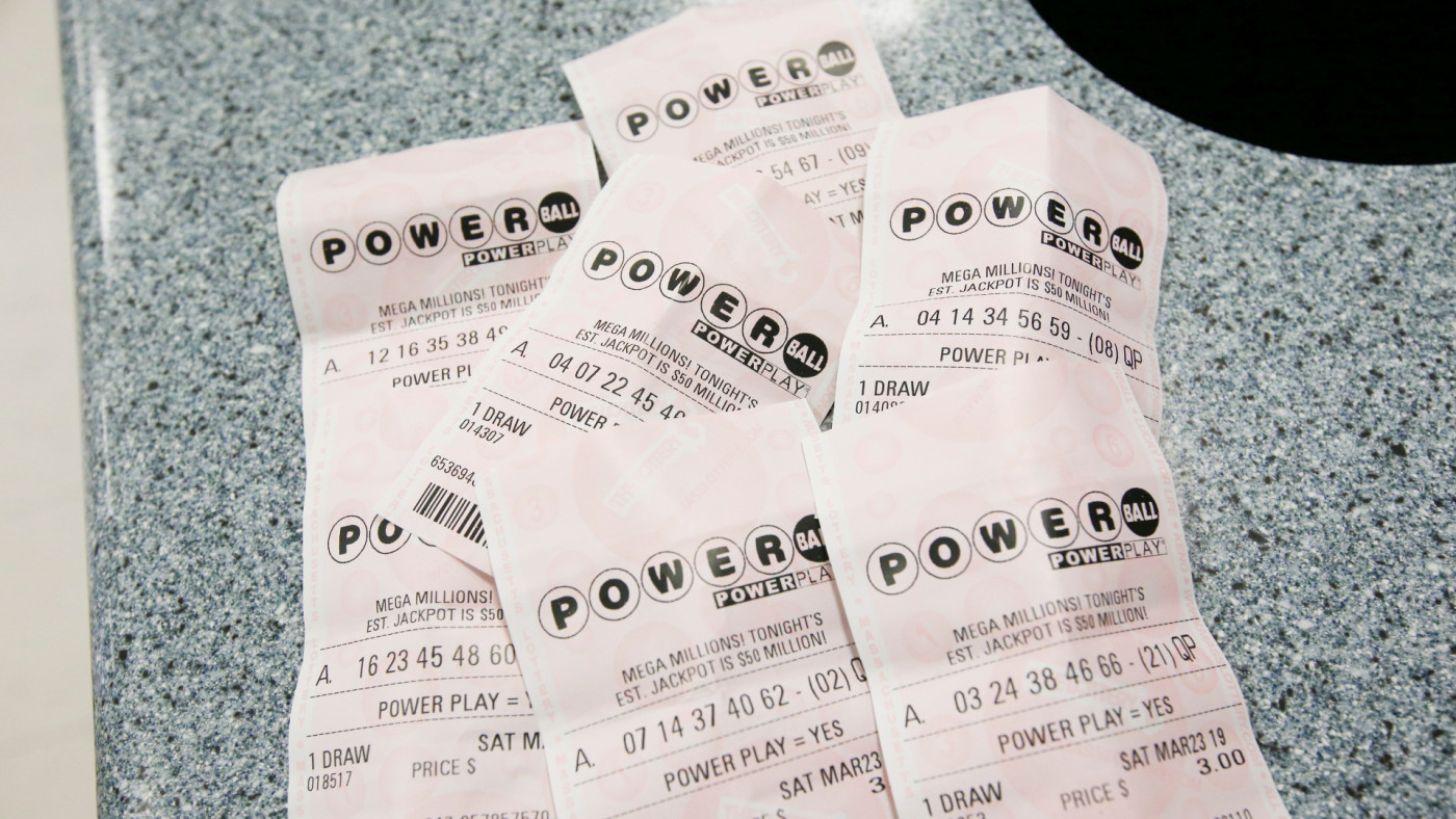 Powerball tickets at The Hub on Broadway.