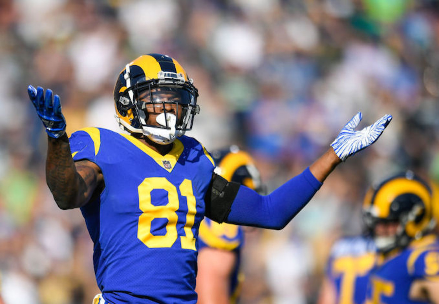 This is a picture of the Rams.