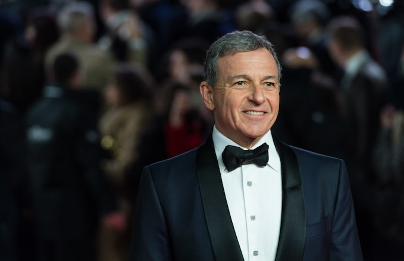 Robert Iger arrives for the European film premiere of 'Star Wars: The Last Jedi.'