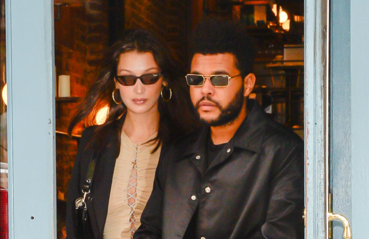 Model Bella Hadid and The Weeknd