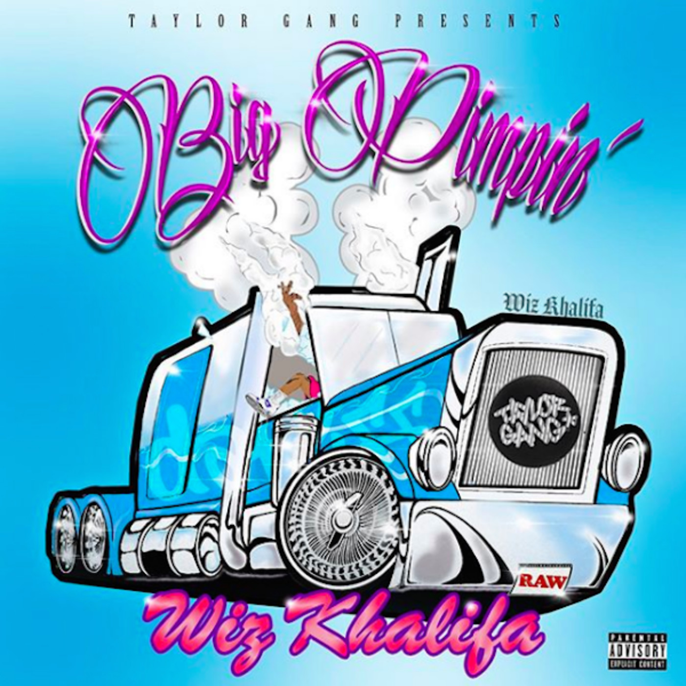 Wiz Khalifa 'Big Pimpin'' Mixtape