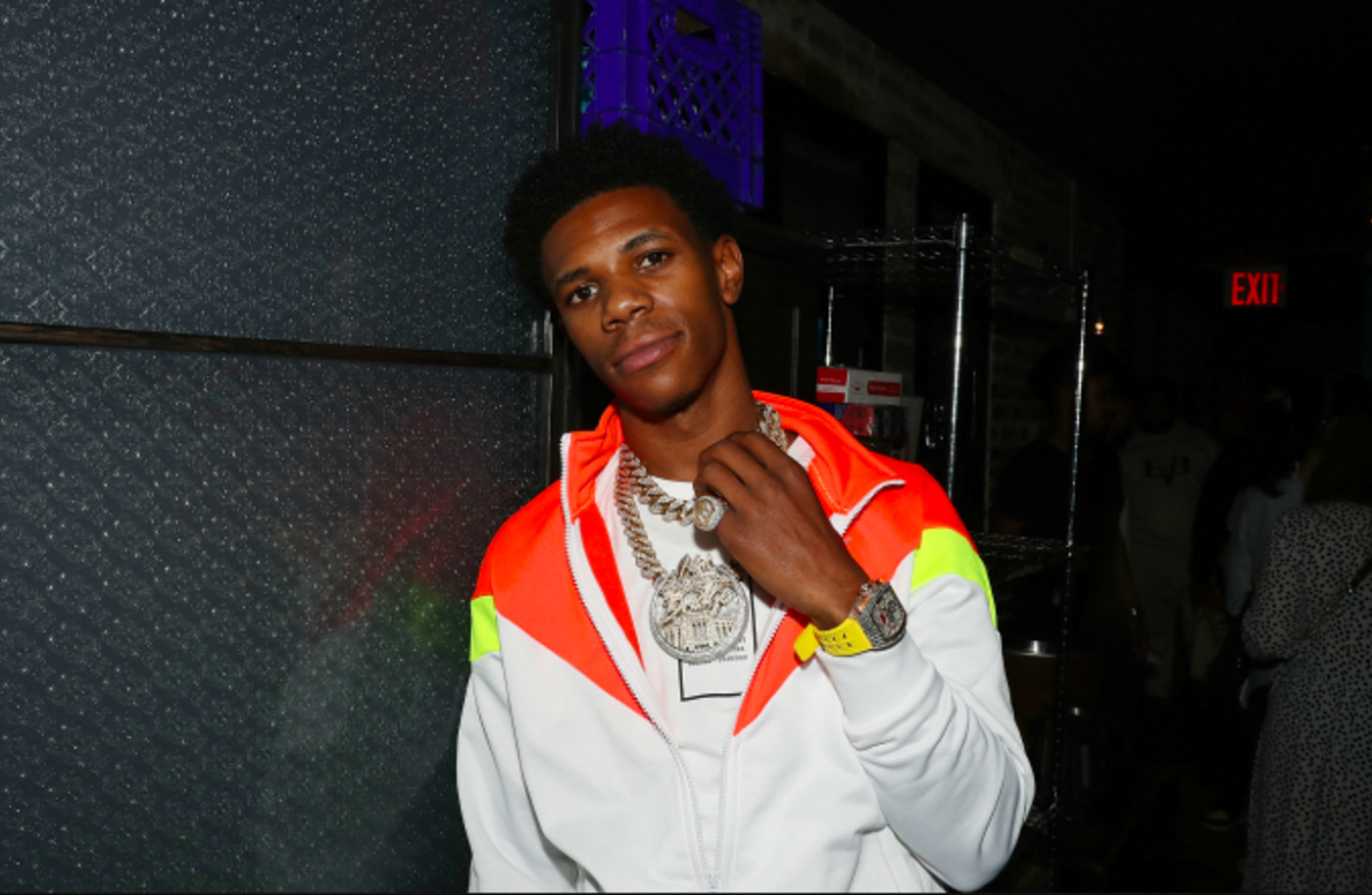 A Boogie Wit Da Hoodie 200 Million Streams on AudioMack Celebration Dinner