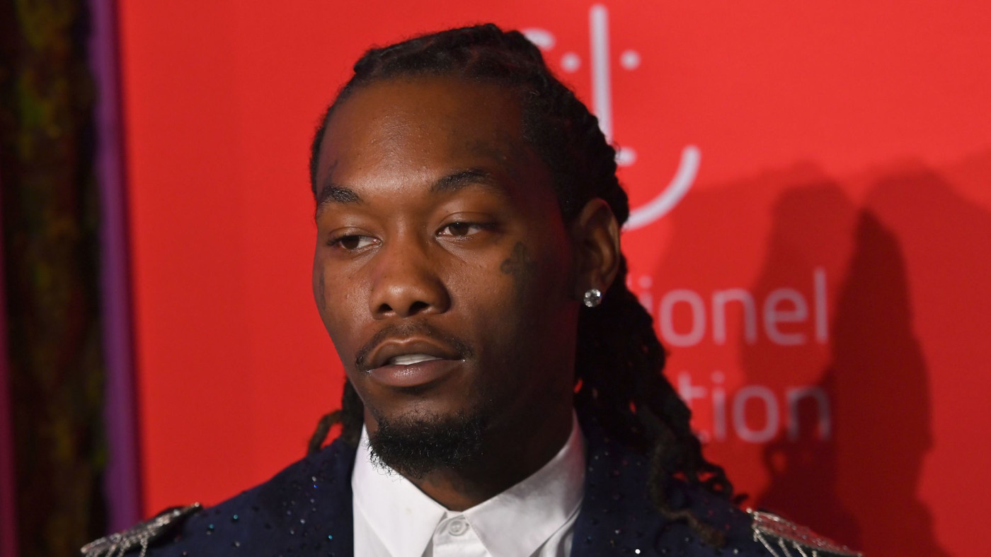 Offset arrives for Rihanna's 5th Annual Diamond Ball Benefitting The Clara Lionel Foundation.