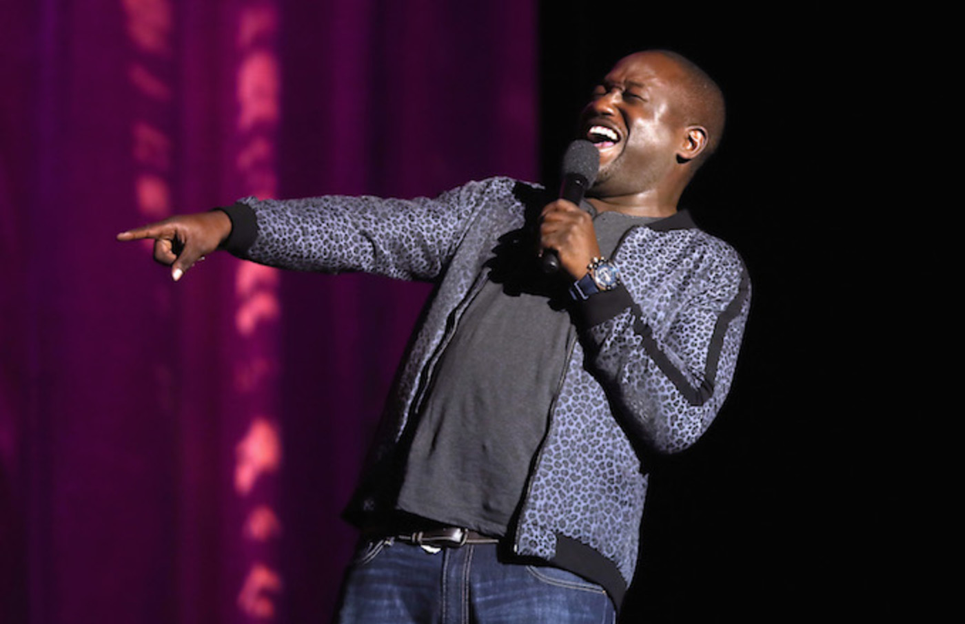Hannibal Buress performs onstage at the 11th Annual Comedy Celebration.