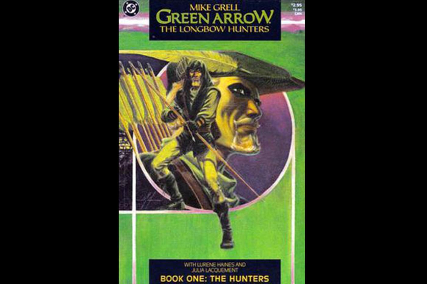 best-dc-comics-green-arrow-longbow