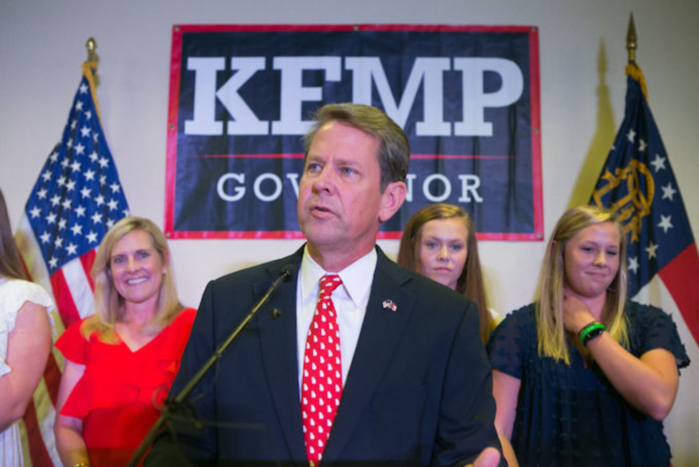 This is a picture of Brian Kemp.