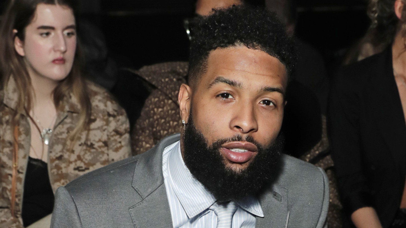 Odell Beckham Jr. attends the Burberry Autumn/Winter 2020 show