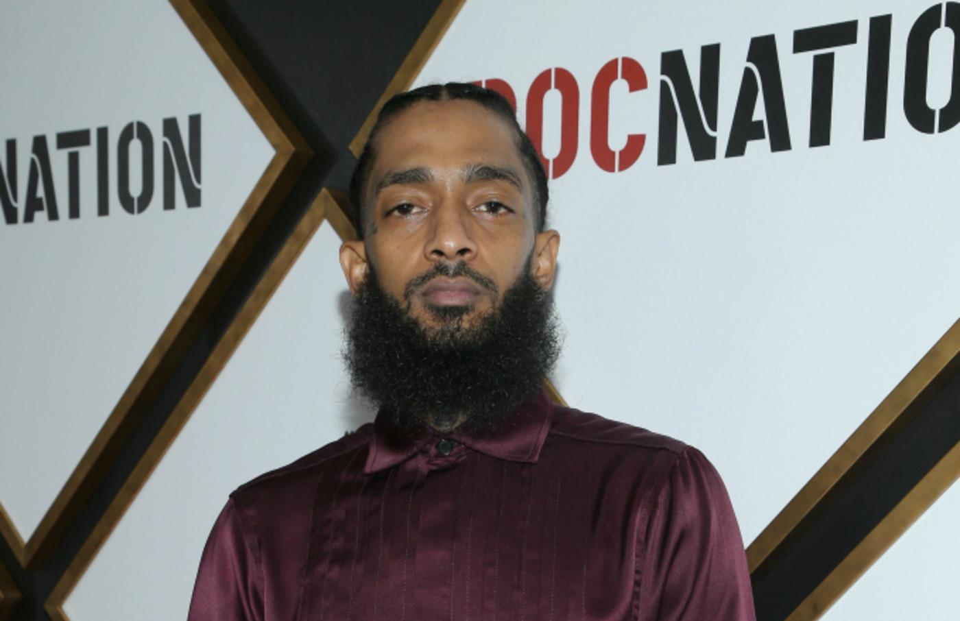 Nipsey Hussle attends 2019 Roc Nation THE BRUNCH