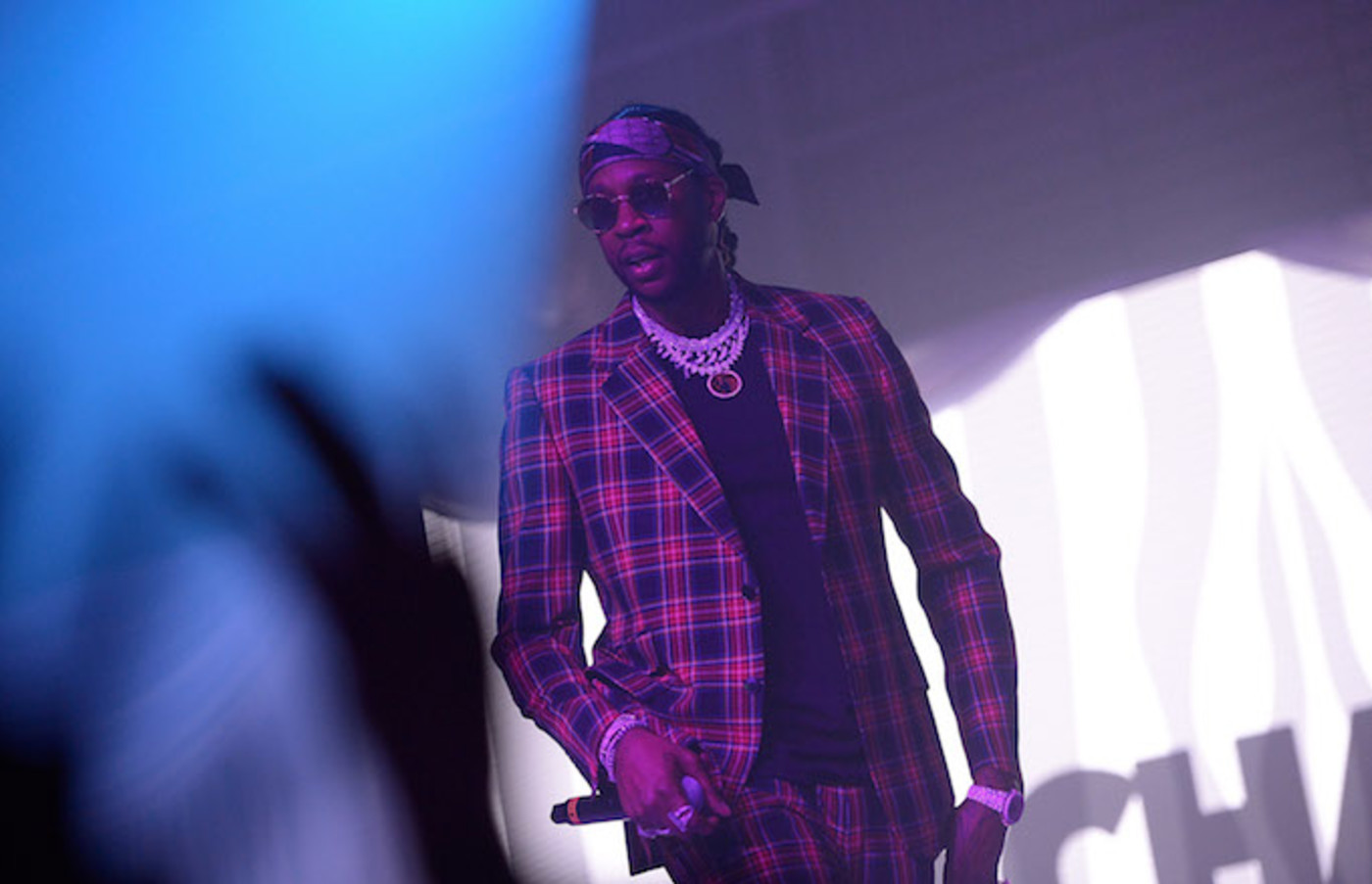 2 Chainz performs at Def Jam Celebrates NBA All Star Weekend at Milk Studios.