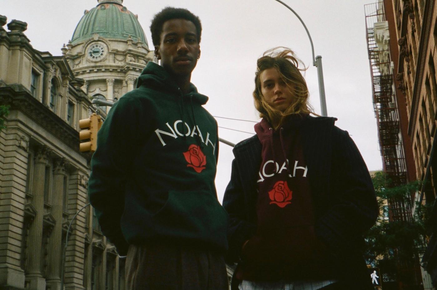 Noah Rose Logo Hoodies