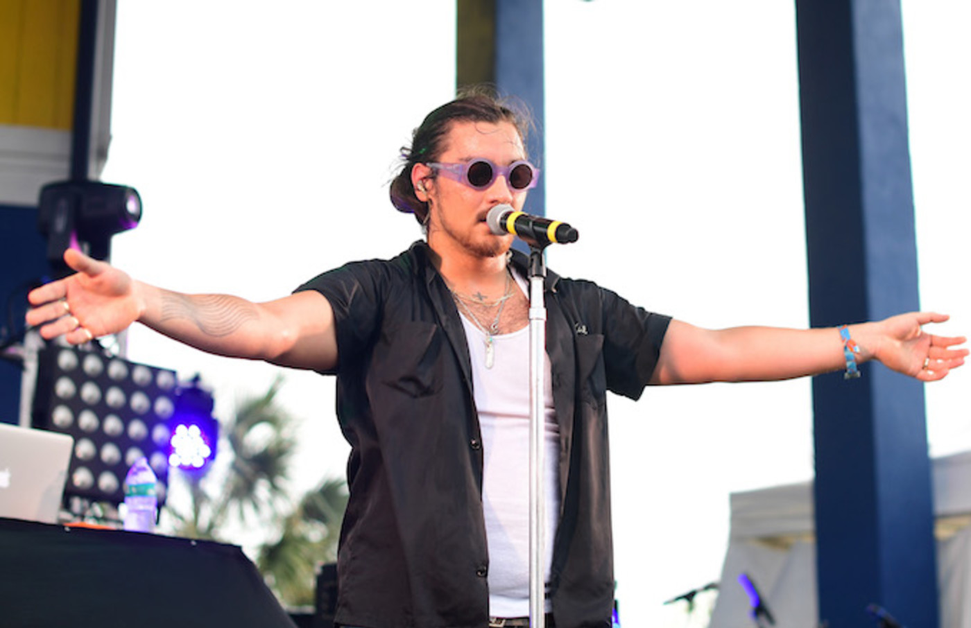 Towkio performs at 2017 Hangout Music Festival