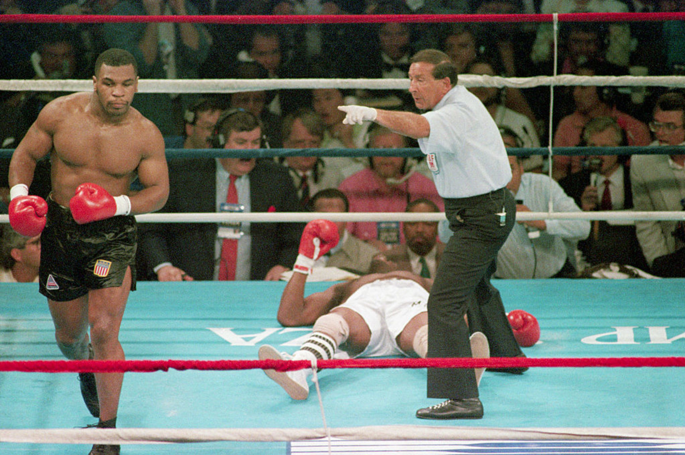 Mike Tyson Michael Spinks 1988 Knockout