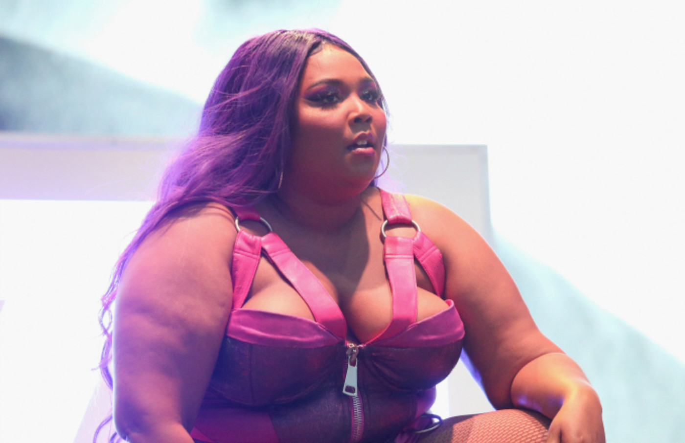 Lizzo performs in concert during week two of the ACL Music Festival