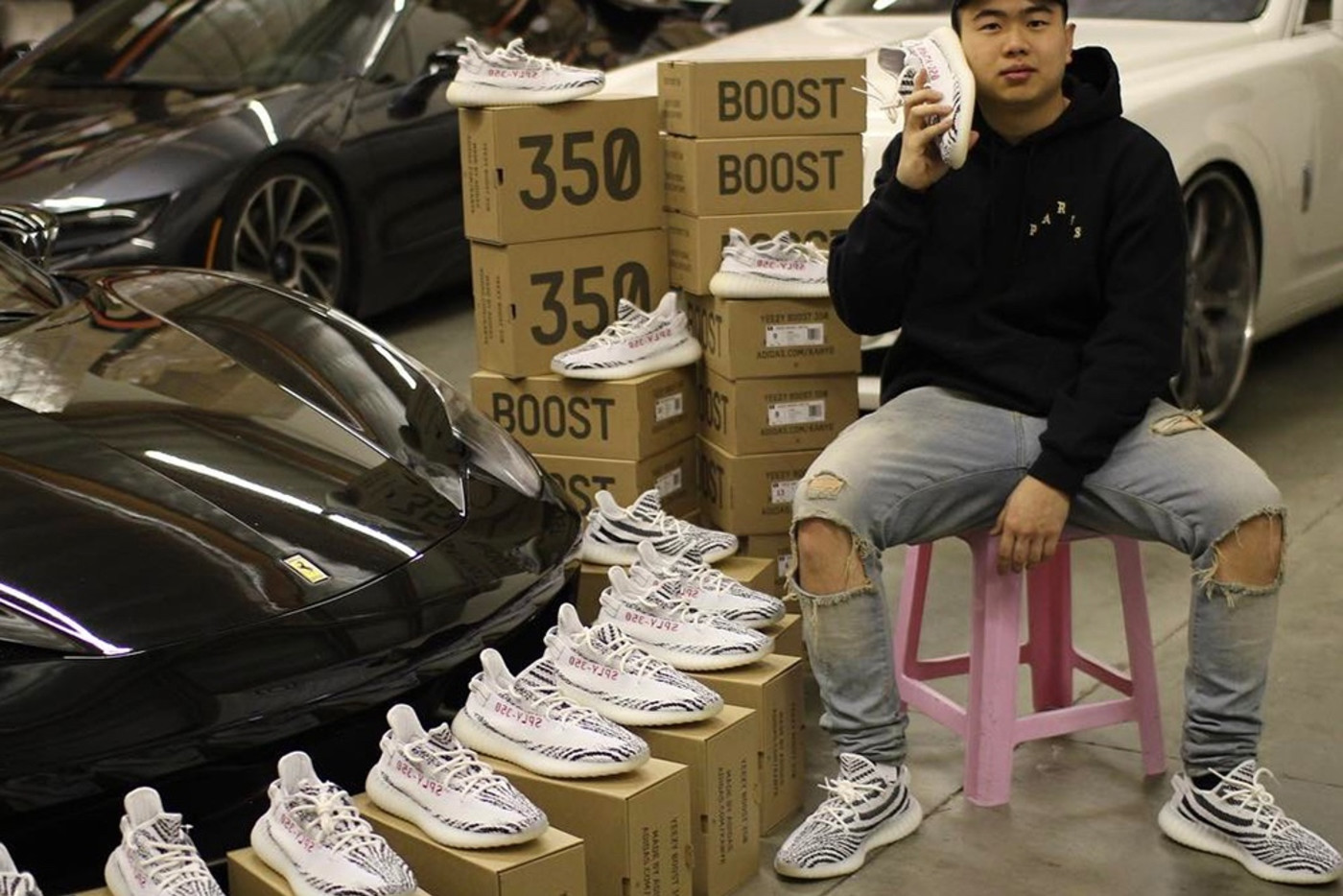 adidas yeezy resell