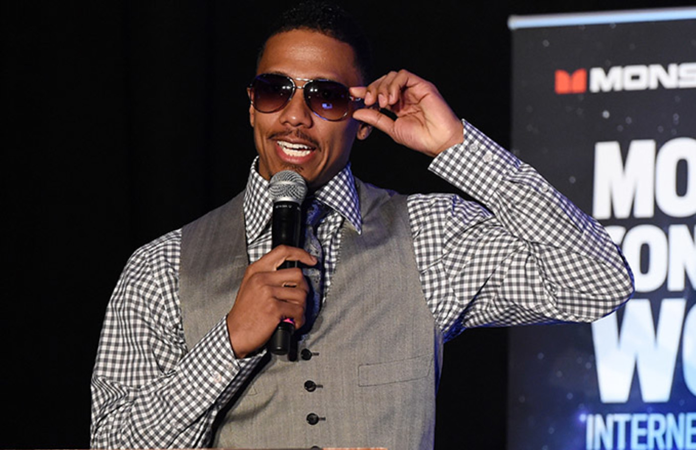 This is a photo of Nick Cannon.