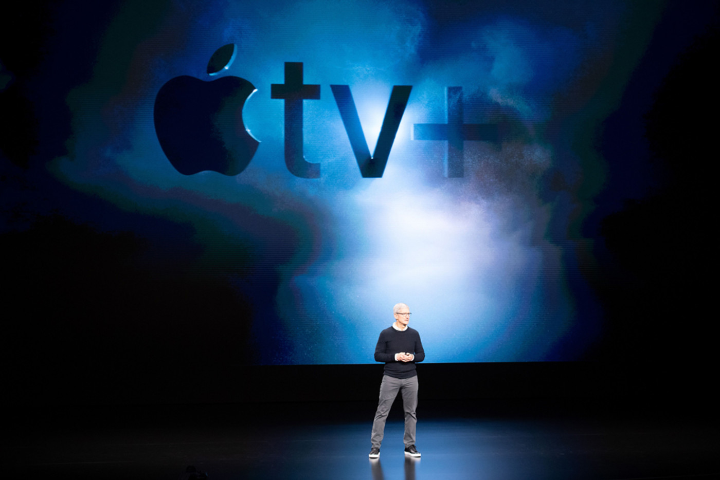 Apple CEO Tim Cook introduces Apple tv+
