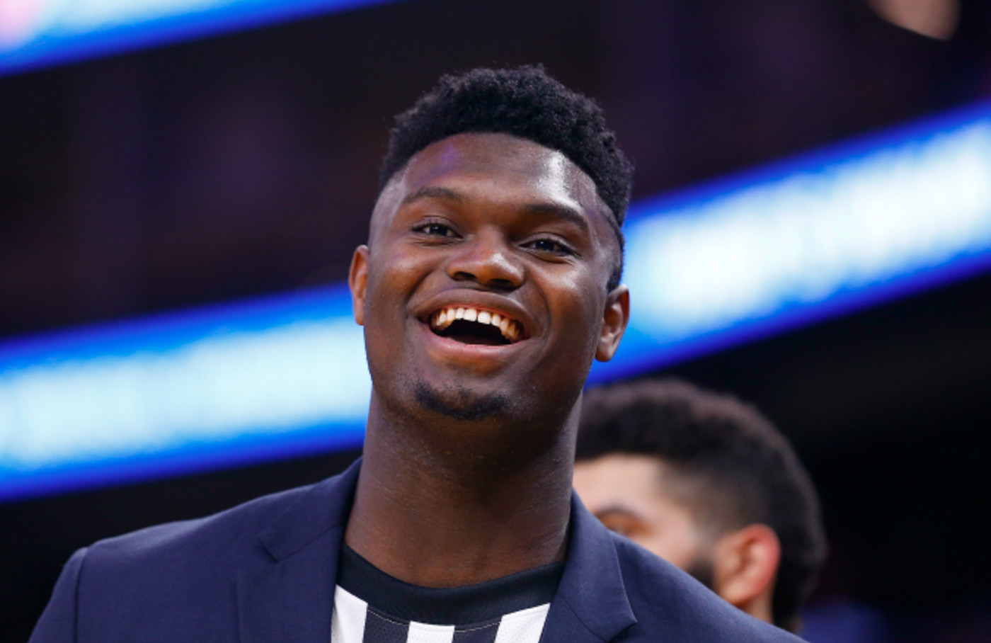 Zion Williamson #1 of the New Orleans Pelicans