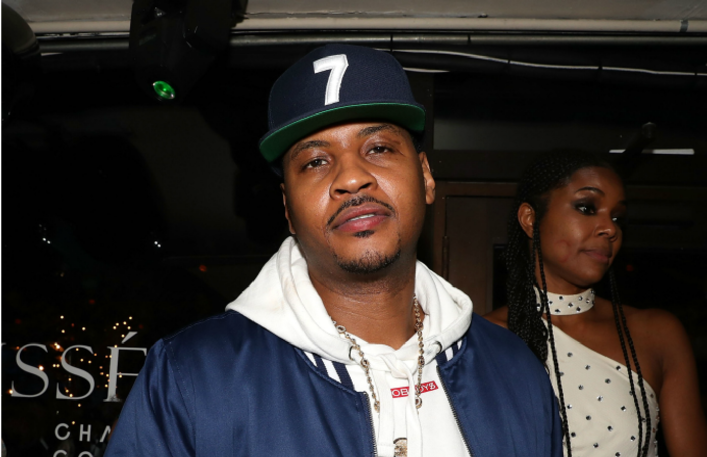Carmelo Anthony attends Dwyane Wade Retirement Dinner