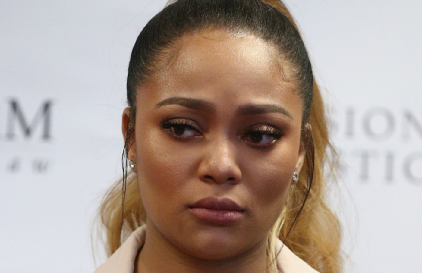 Teairra Mari (pictured) and her attorneys Lisa Bloom and Walter Mosely
