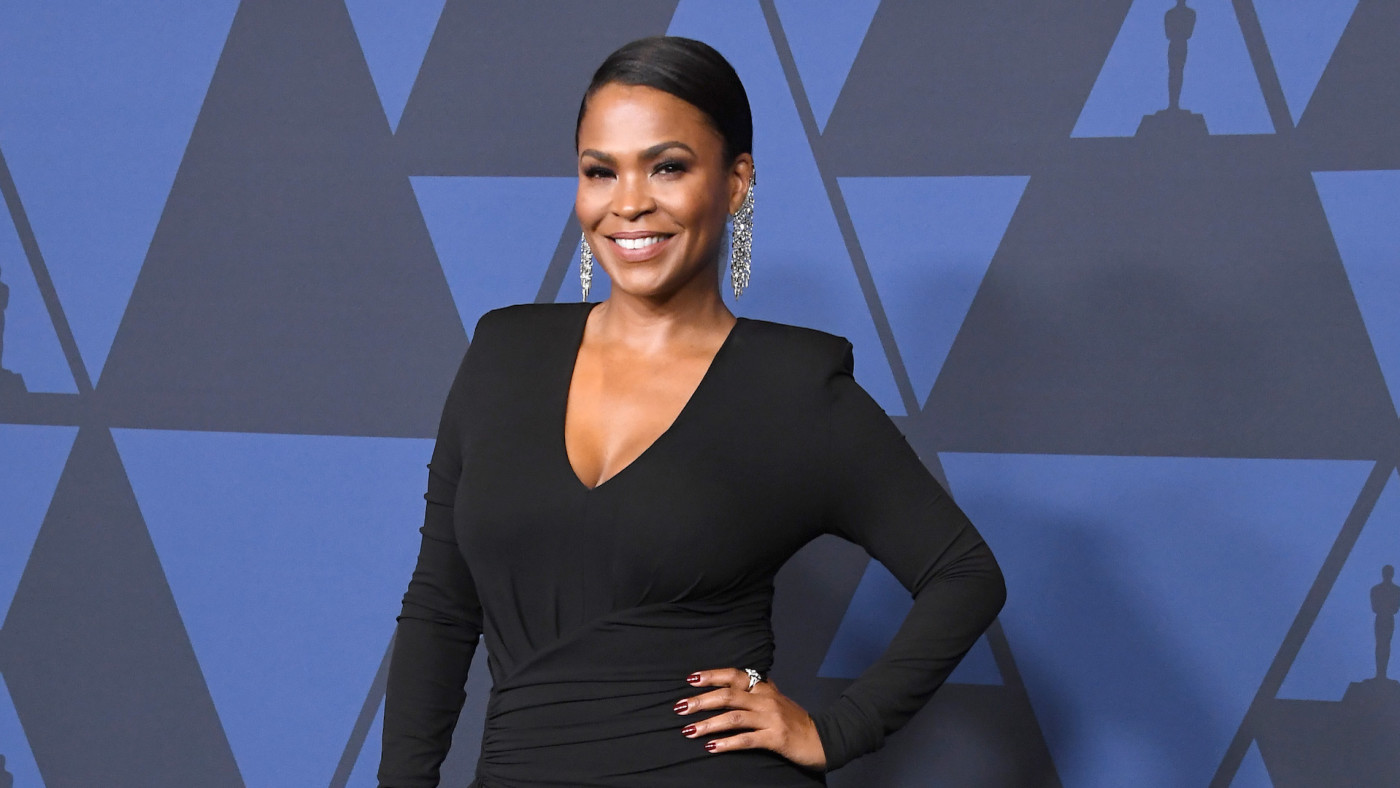 Nia Long arrives at the Academy Of Motion Picture Arts And Science