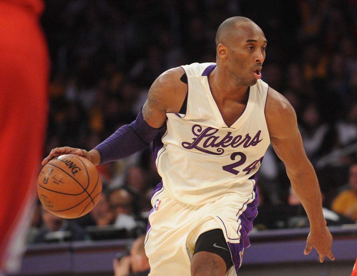 Kobe Bryant Lakers Rockets Christmas 2015