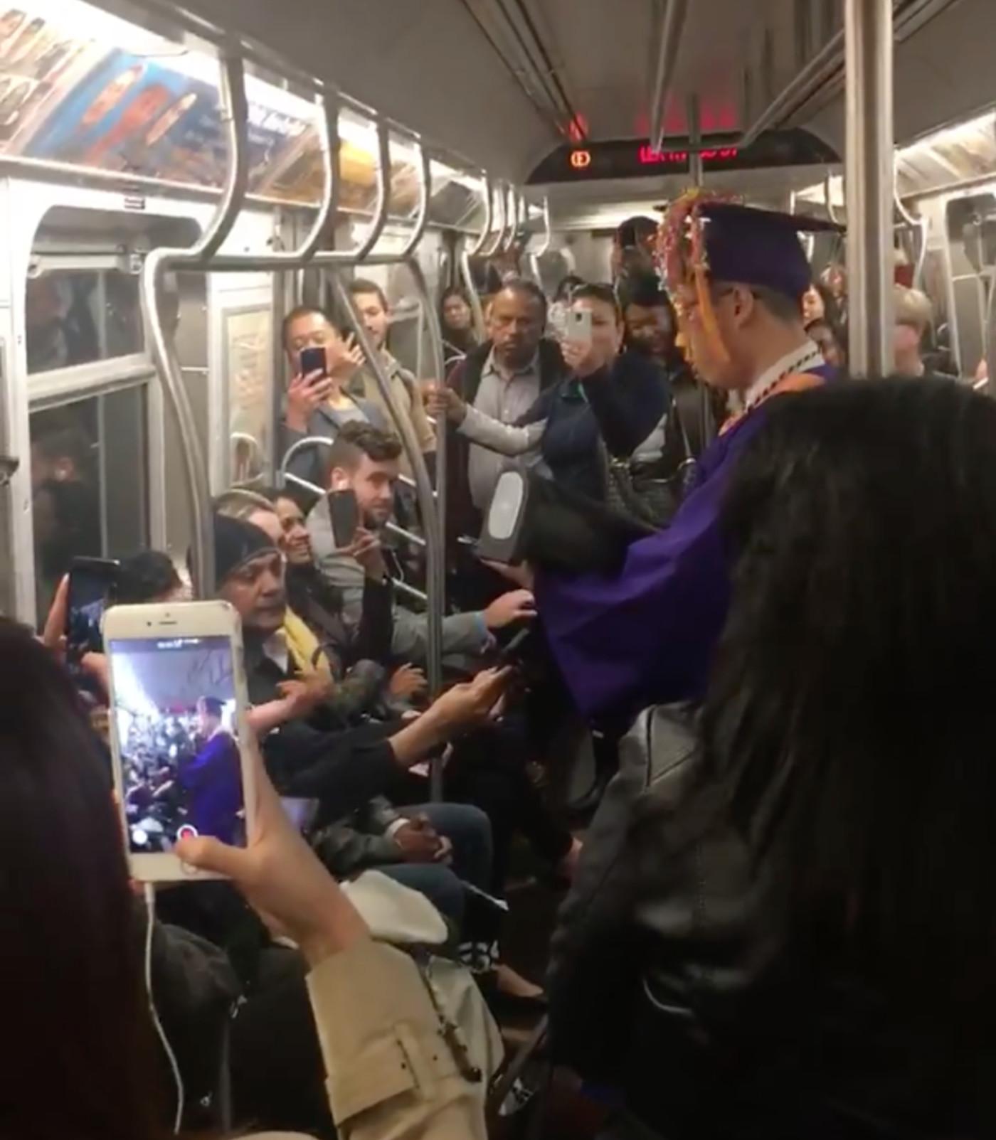 subway graduation