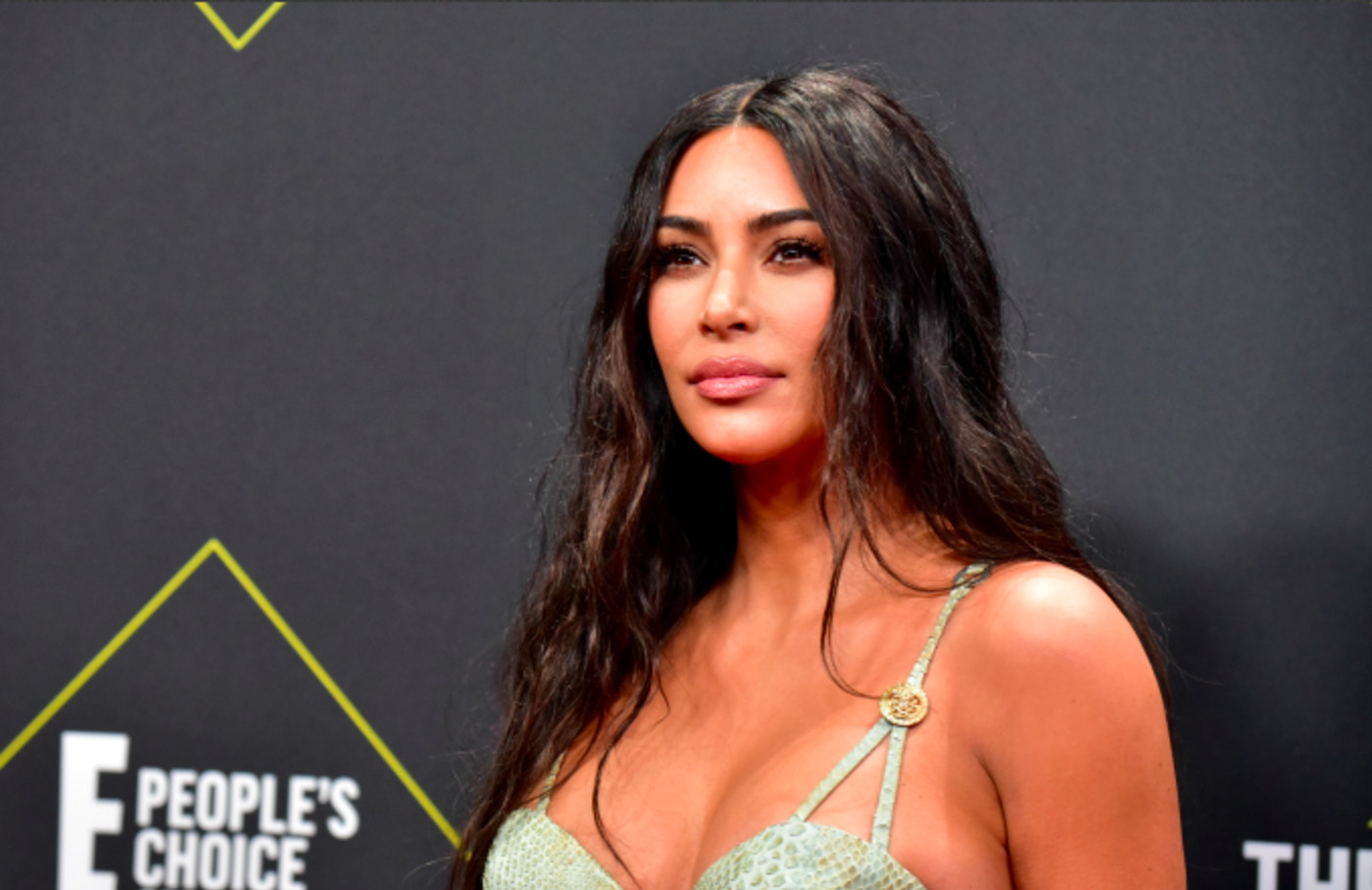 Kim Kardashian attends the 2019 E! People's Choice Awards