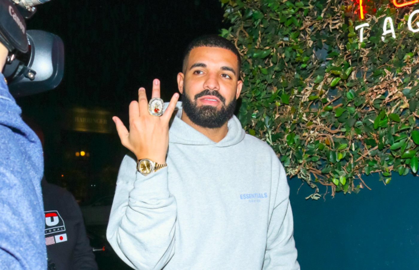Drake is seen on October 23, 2019 in Los Angeles, California