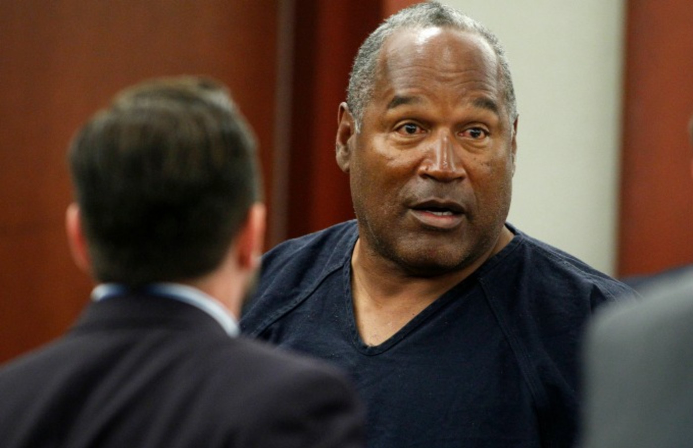 O.J. Simpson appears in court.