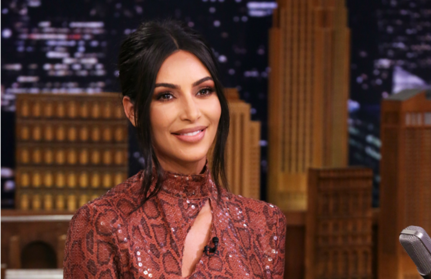 Entrepreneur Kim Kardashian West during an interview