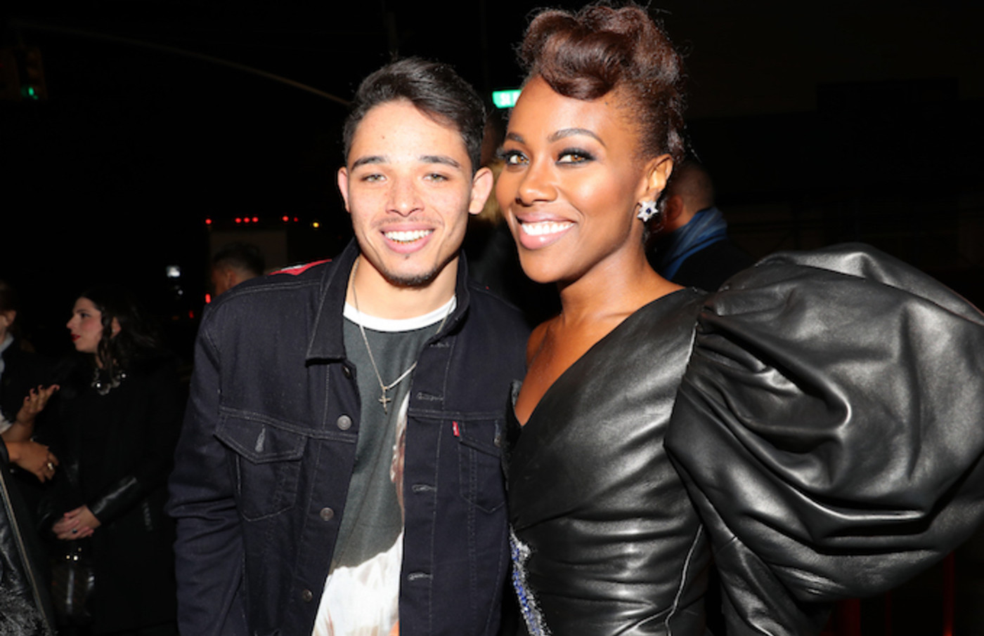 Anthony Ramos and DeWanda Wise