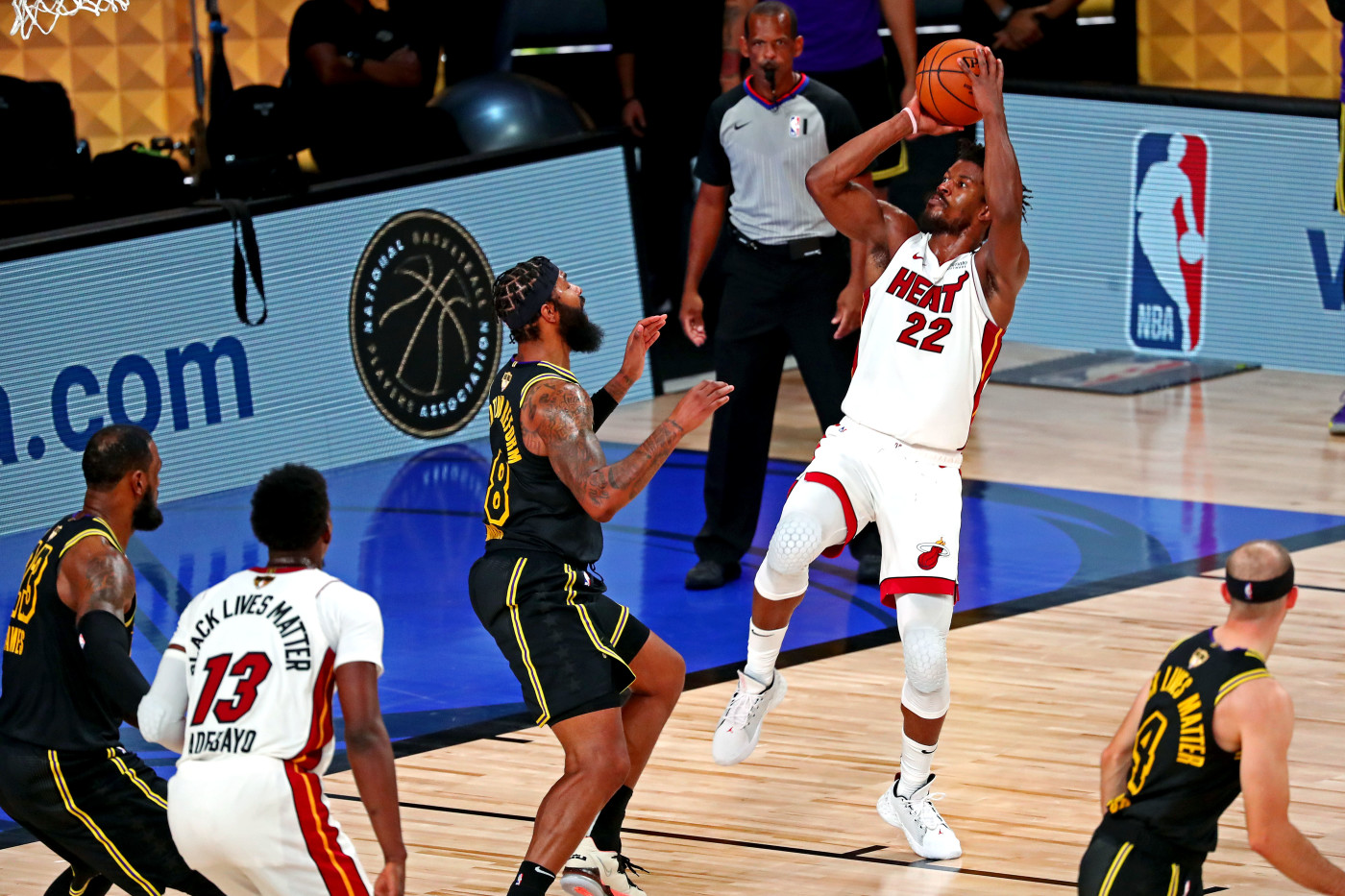 Jimmy Butler Heat Lakers Game 5 2020