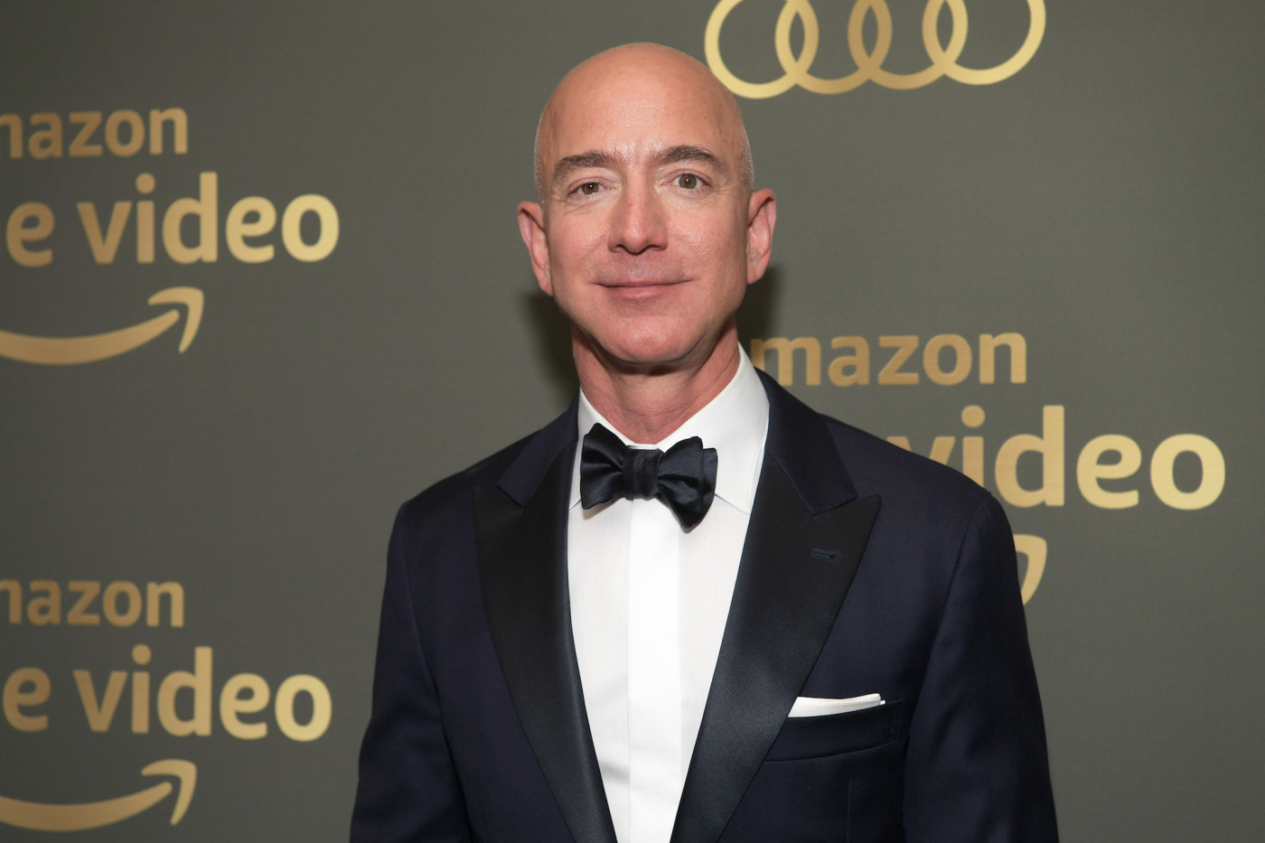 Jeff Bezos attends the Amazon Prime Video's Golden Globe Awards After Party.