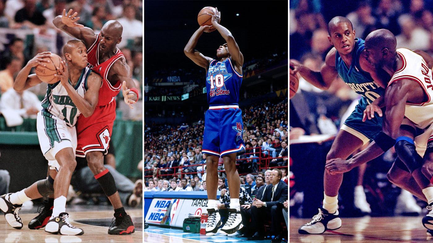 BJ Armstrong Wearing Air Jordans